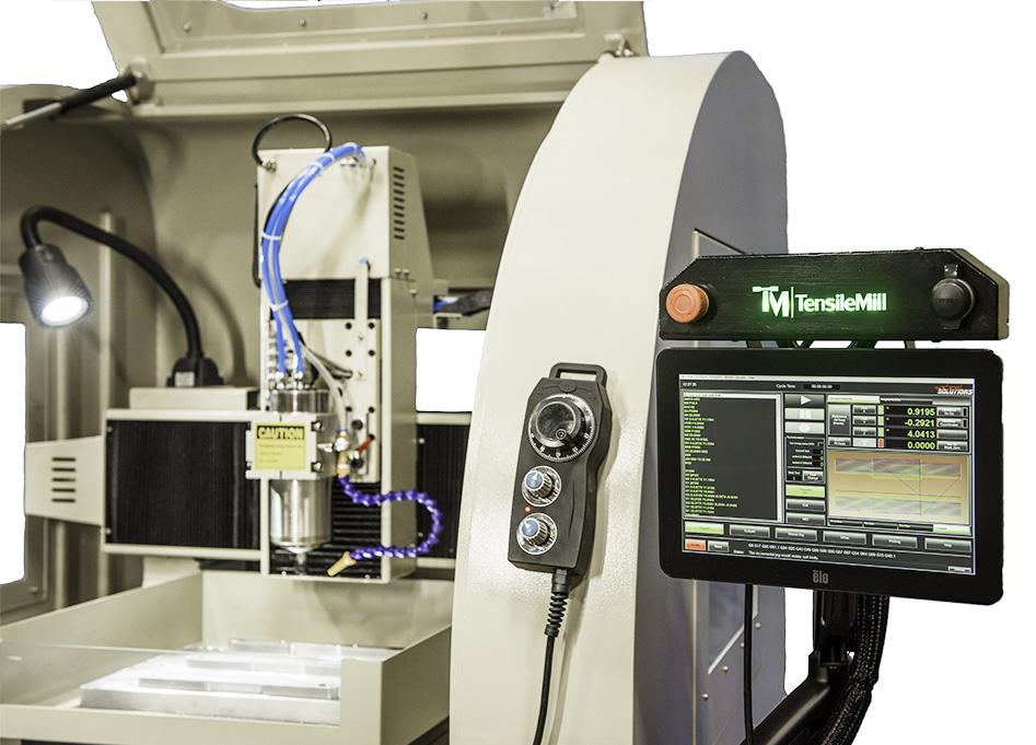 Compact Flat Tensile Test Sample Preparation Machine